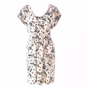 Anthropologie Dresses - Anthropologie Odille Junebug Silk V-Neck Dress